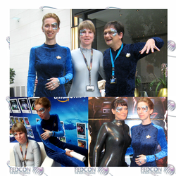 Four Seven of Nines at FedCon 2013 by ewigestudentin