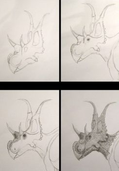 WIP: Diabloceratops Preview by DiNoDrAwEr