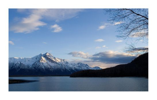 Evening in Alaska by anonymous66