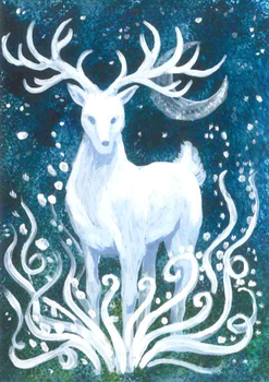 Stag by GlauxBryonia