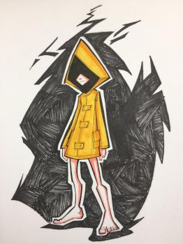 Little Nightmares Six fanart by MechDennis