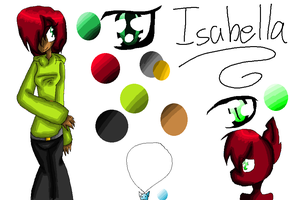 Isabella :REF: by Bonnieart04