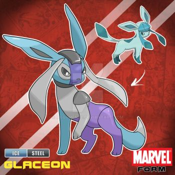 GLACEON MARVEL FORM by Meg4mente