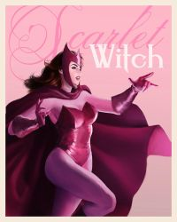 Scarlet Witch by irvintustin
