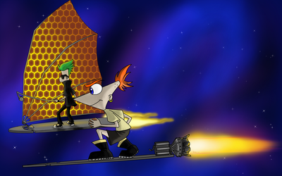 Treasure planet And Pn F crossover by ShoyzzFanArt