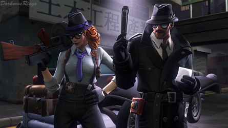 The Detectives by DarknessRingoGallery