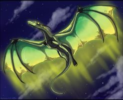 AT: Lights On the Night Sky by WhitePhoenix7