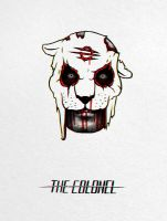 The Colonel from Hotline Miami 2 by tramvaev