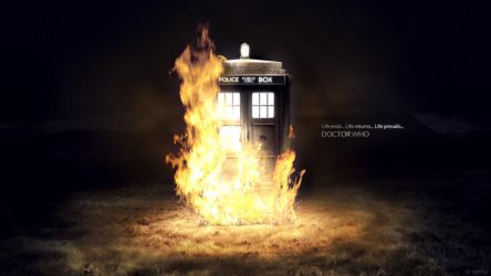 Doctor Who - Life Prevails by dj-corny