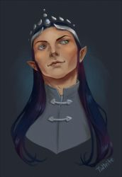 Elven King by tin-sulwen
