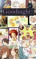 Goodnight~ Hetalia by ThatWeirdHetalian