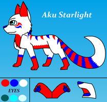 Aku Starlight (New Ref Sheet) by AkuStarlight