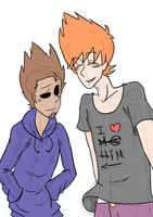 Eddsworld - TomMatt by Ceedjisworld