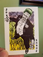 Joker Sketchcard For Sale by broken-nib