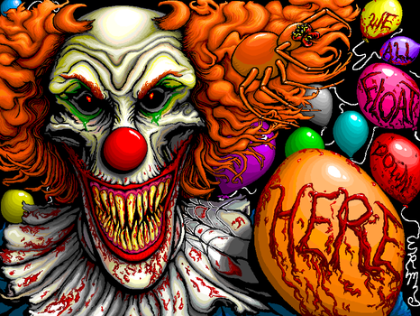 Pennywise by insignificantartist
