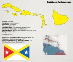 SW: Map of The Caribbean by ThanyTony