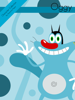 Character Collection #38 - Oggy by AwesomePaper