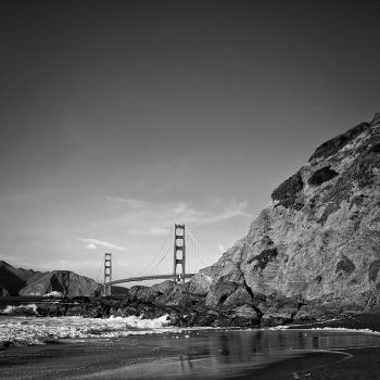 Golden Gate from Baker Beach by nathanspotts
