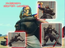 SSF4AE M.Bison (Dictator): Darth Vader costume by sloth85