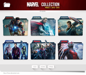 Marvel Collection Folders - Phase 2 by limav