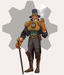 27/30 Steampunk gentleman by M-Whistler