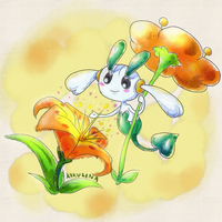 Pokedex Challenge Floette (orange)