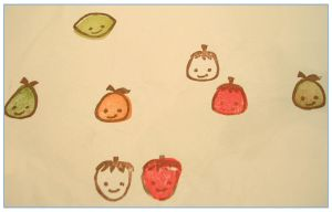 Citrus stamps - stamped by restlesswillow