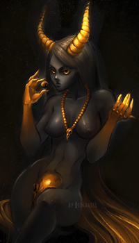 black and gold by RedGrasss