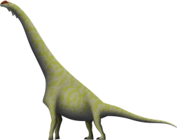 The Dry Mesa Brachiosaur by SpinoInWonderland