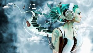 Music is the heart of my soul by zepaulo