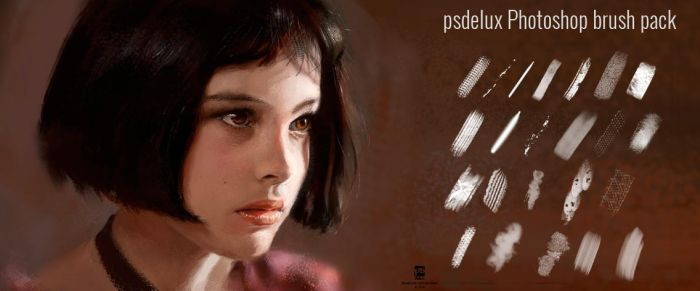 20151227 Psdelux Brush Pack Psdelux by psdeluxe