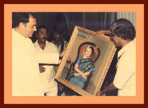 A gift for the P.M by MPKumar