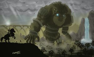 Shadow of the Colossus by Adam-Leonhardt