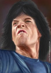 :: Mick Jagger :: by gile78