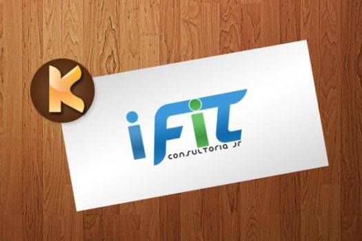 Logo - iFit Consultoria Jr by Natyvw