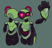 Starbound - Erliea ref by lily-meow