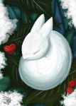 Snow Rabbit - Xmas 08 by calger459