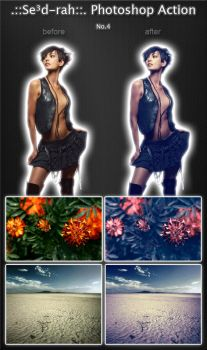 Sedrah Photoshop Action No4 by Sed-rah-Stock