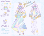 Golden Princess Xynthii - [CLOSED] by hello-planet-chan