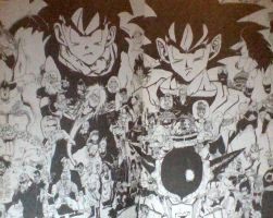 The world of Dragon Ball by May15