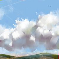 Clouds by Zamenabatareek