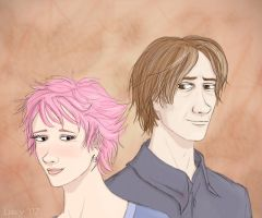 Tonks+Remus by Lucy--C