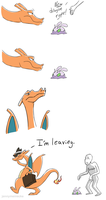 Charizard Calls it Quits by Jeminy3