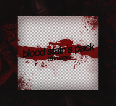 Blood Stains Pack by xmethyst