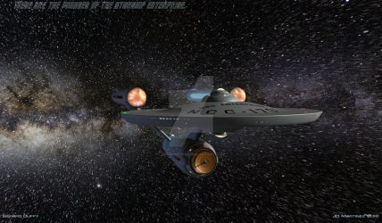 These are the Voyages of the Starship Enterprise by dragonpyper