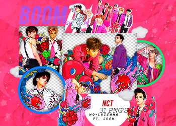 NCT 127 PNG PACK #5/Cherry Bomb by Upwishcolorssx