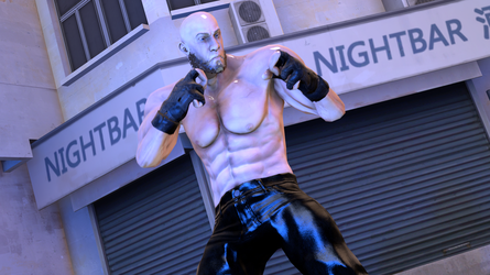 Beast Fighter Character Closeup Render by DJ7493