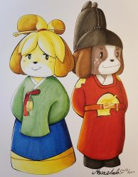 Animal Crossing Royalty by Masae