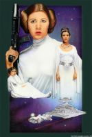 Princess Leia- A New Hope by MJasonReed