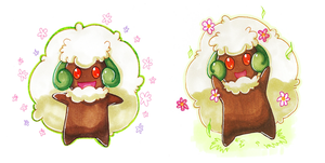 Whimsicott by gadaboutArtificer